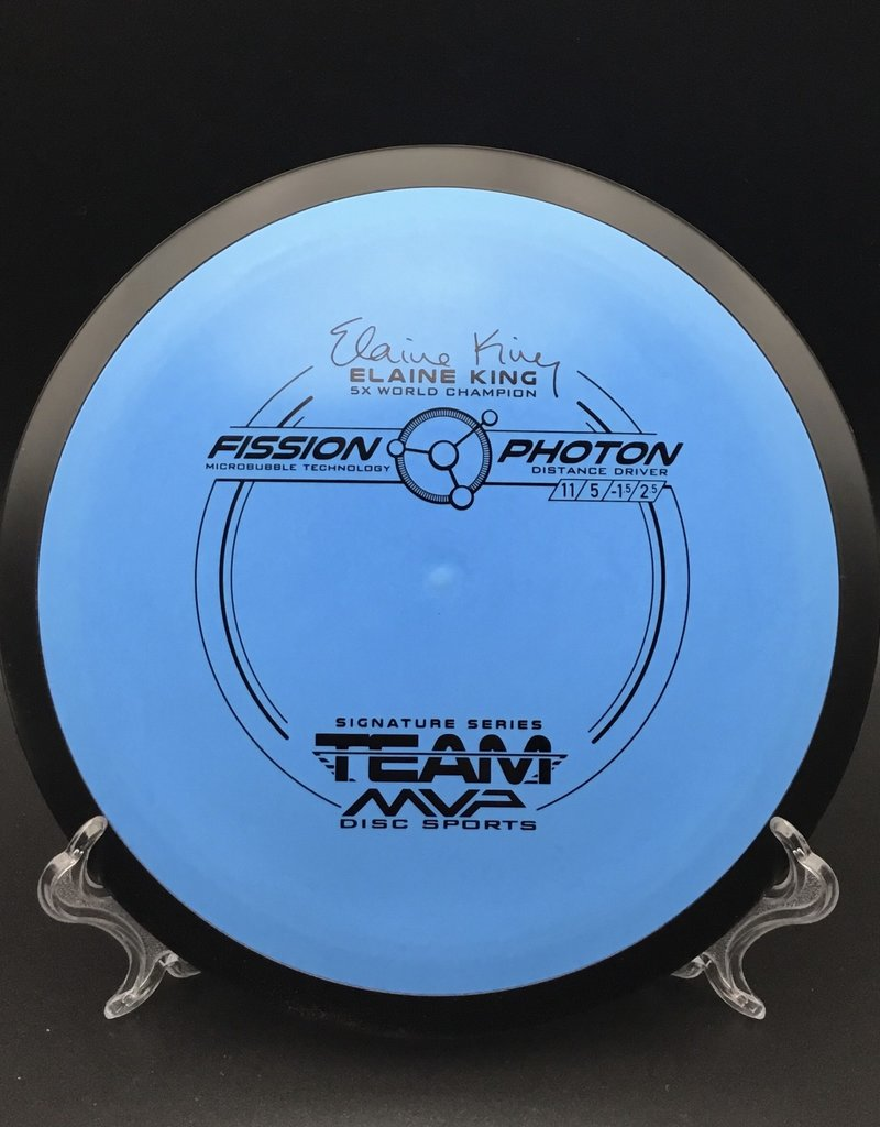 MVP Disc Sports MVP Photon Fission Blue Elaine King 150g 11/5/-1.5/2.5