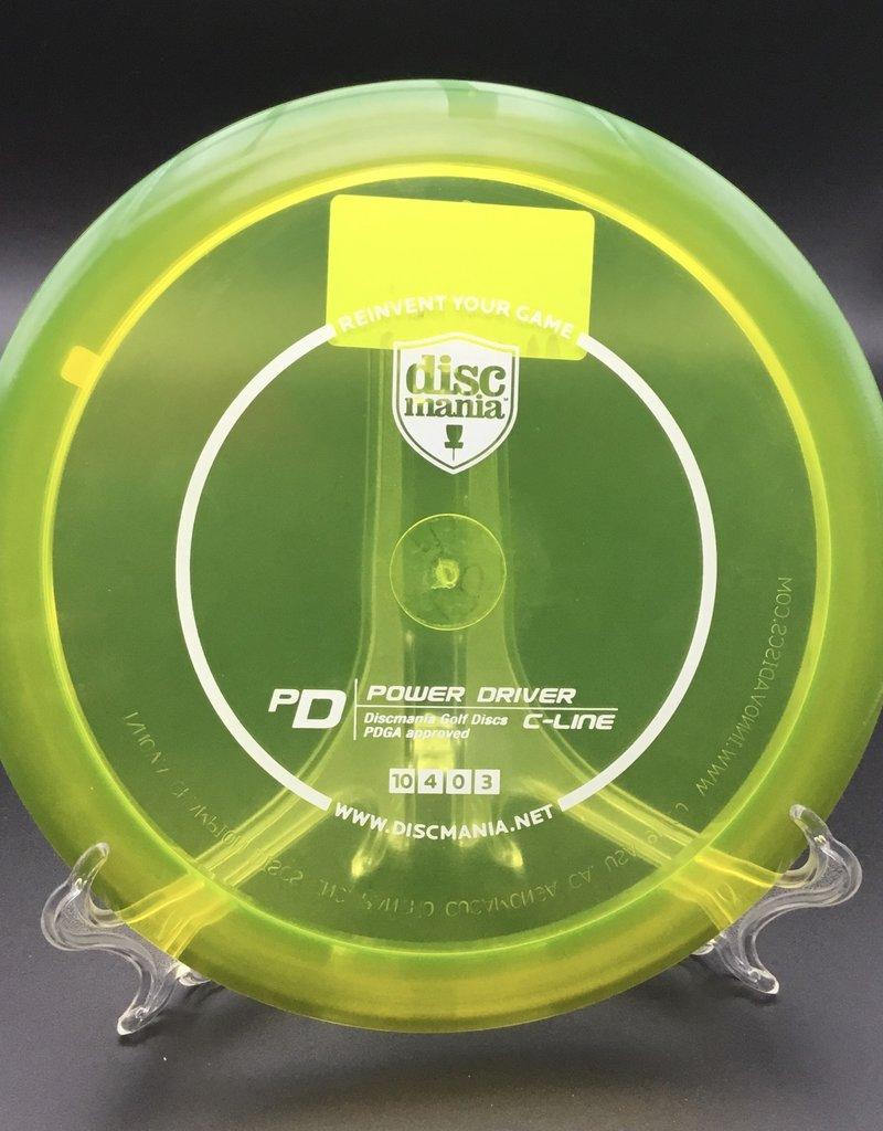 Discmania Discmania PD C-Line Transparent Yellow 170g 10/4/0/3
