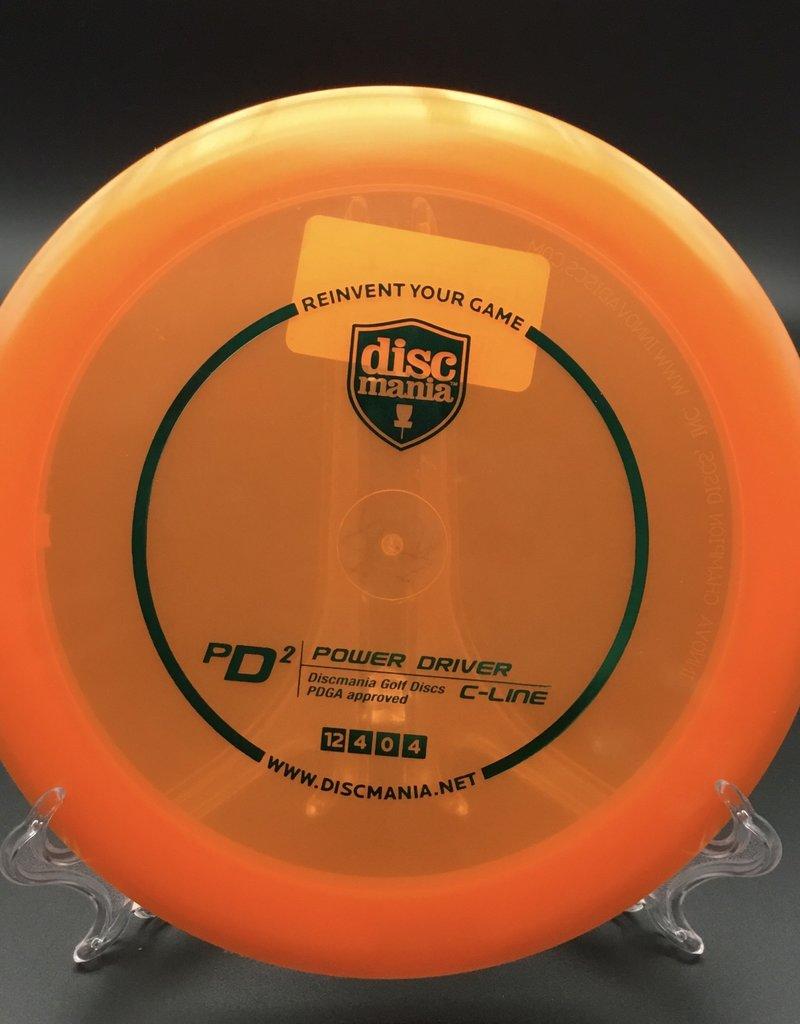Discmania Discmania PD2 C-Line Transparent Orange 175g 10/4/0/4