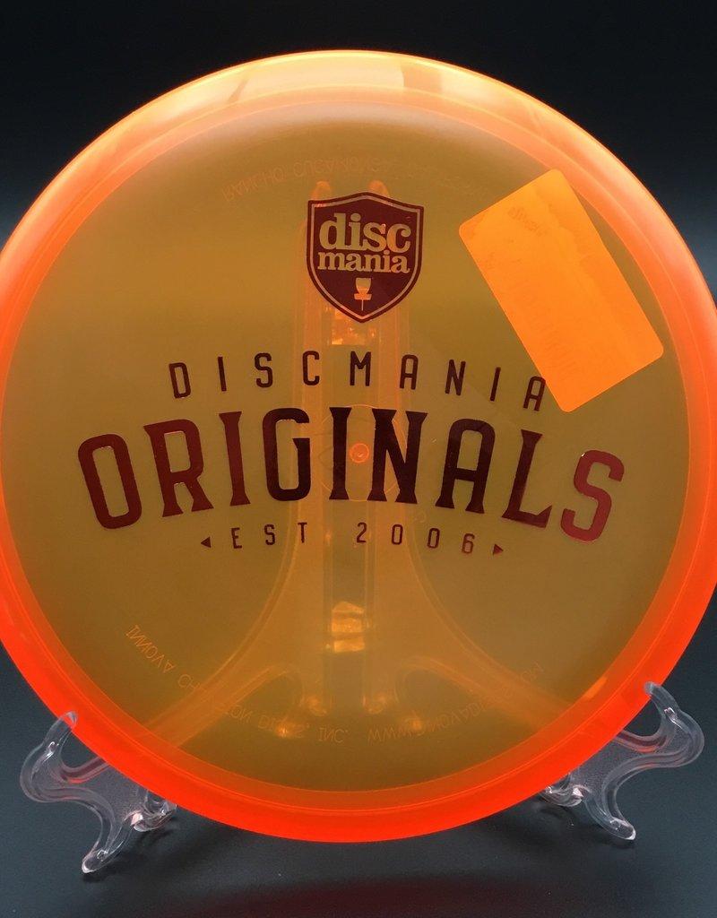 Discmania Discmania P2 C-Line Transparent Orange Originals stamp175g 2/3/0/1
