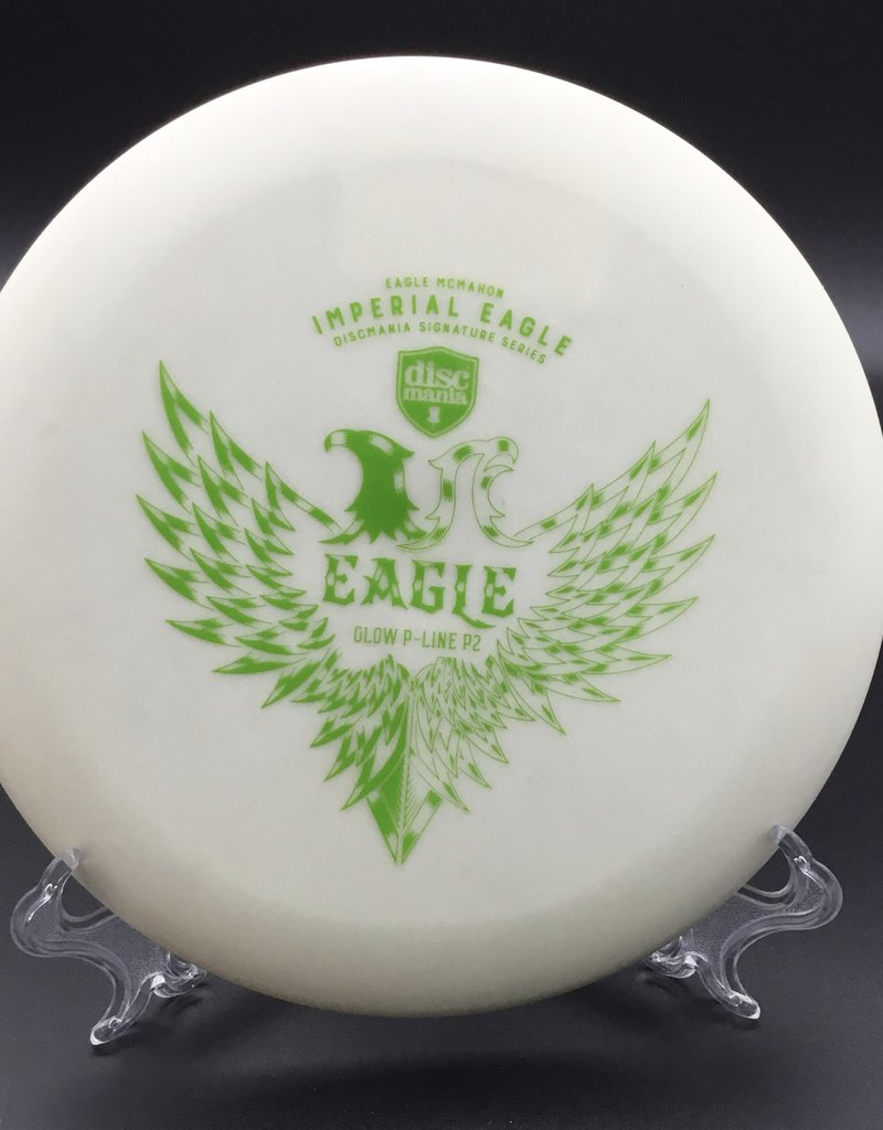 Discmania Discmania P2 P-Line Glow White Imperial Eagle Eagle McMahon 175g 2/3/0/1