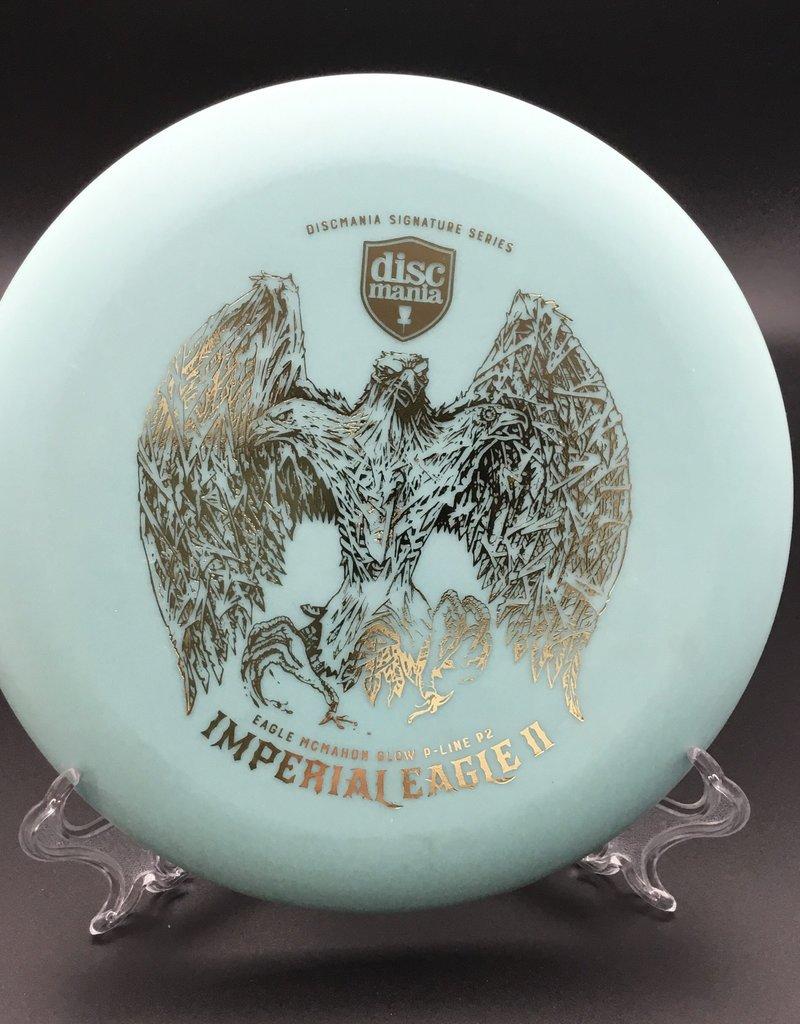 Discmania Discmania P2 P-Line imperial Eagle II Glow Blue Eagle McMahon 175g 2/3/0/1