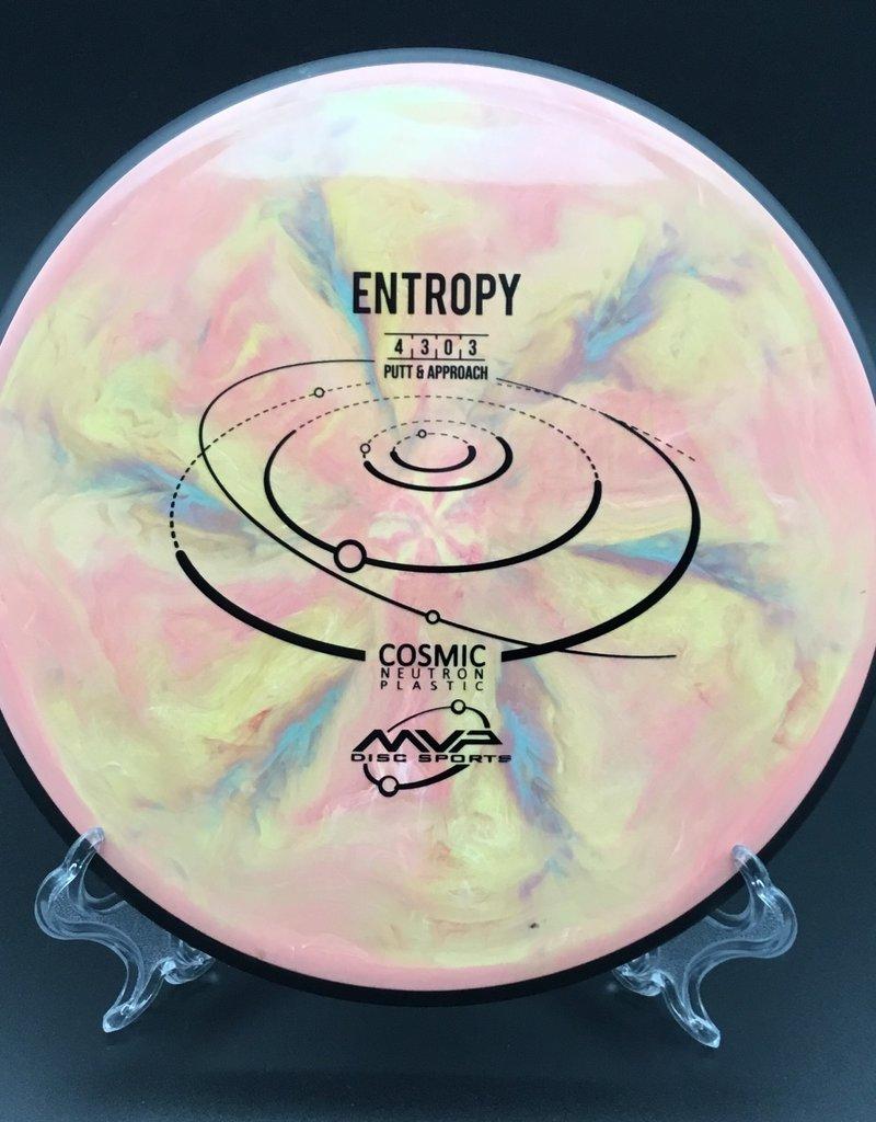 MVP Disc Sports MVP Entropy Cosmic Pink/Yellow 175g 4/3/0/3