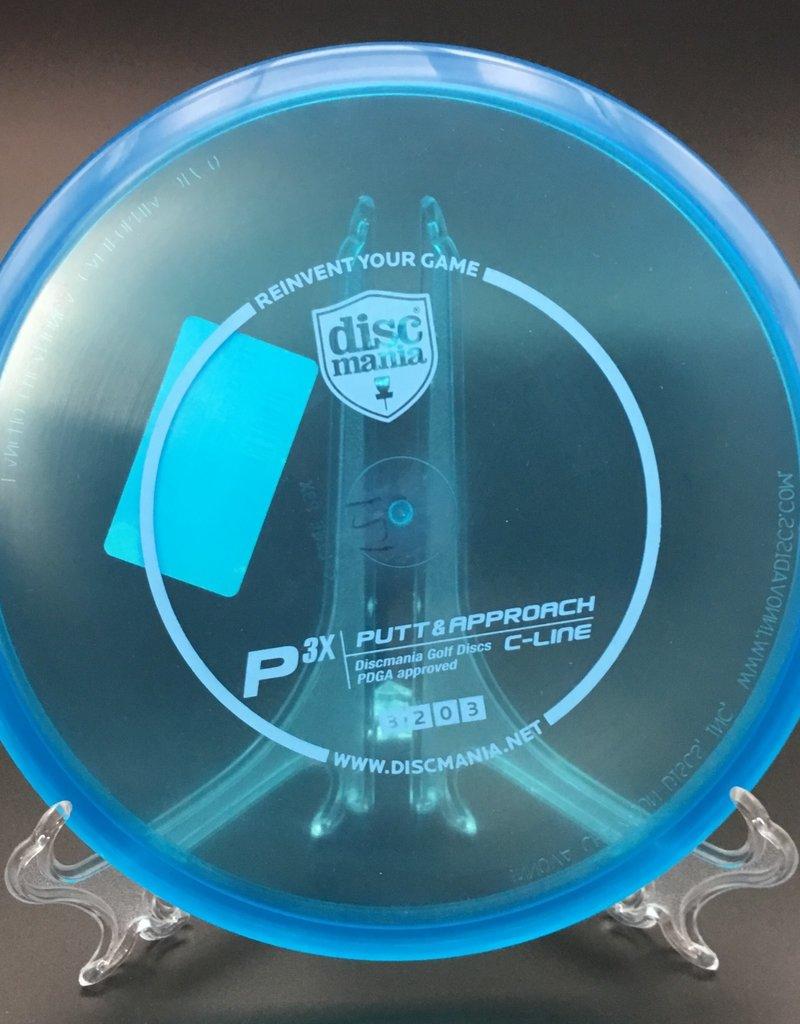 Discmania Discmania P3X C-Line Transparent Blue 170g 3/2/0/3