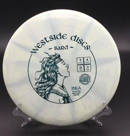Westside Discs Westside Bard Tournament Burst White 180g 5/4/0/3