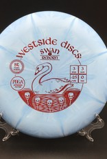 Westside Discs Westside Swan 1 Reborn BT Hard Burst Blue 174g 3/3/-2.5/0