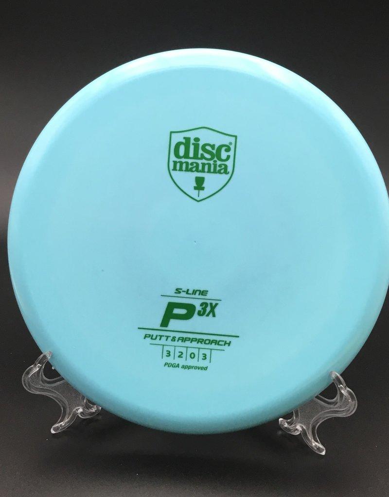 Discmania Discmania P3X S-Line Blue 170g 3/2/0/3
