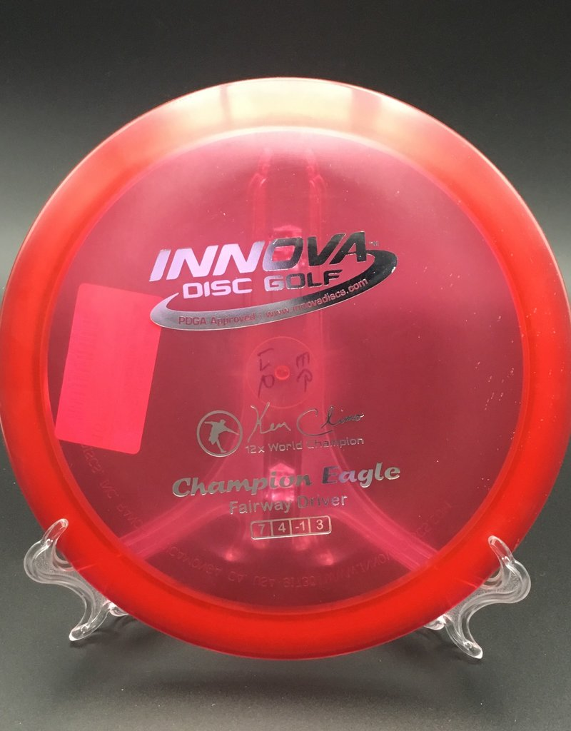 Innova Innova Eagle Champion Transparent Red 176g 7/4/-1/3