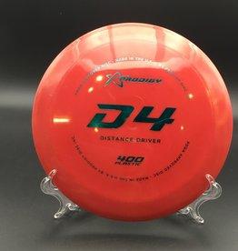 Prodigy Prodigy D4 400 Red 172g 12/6/-3/2