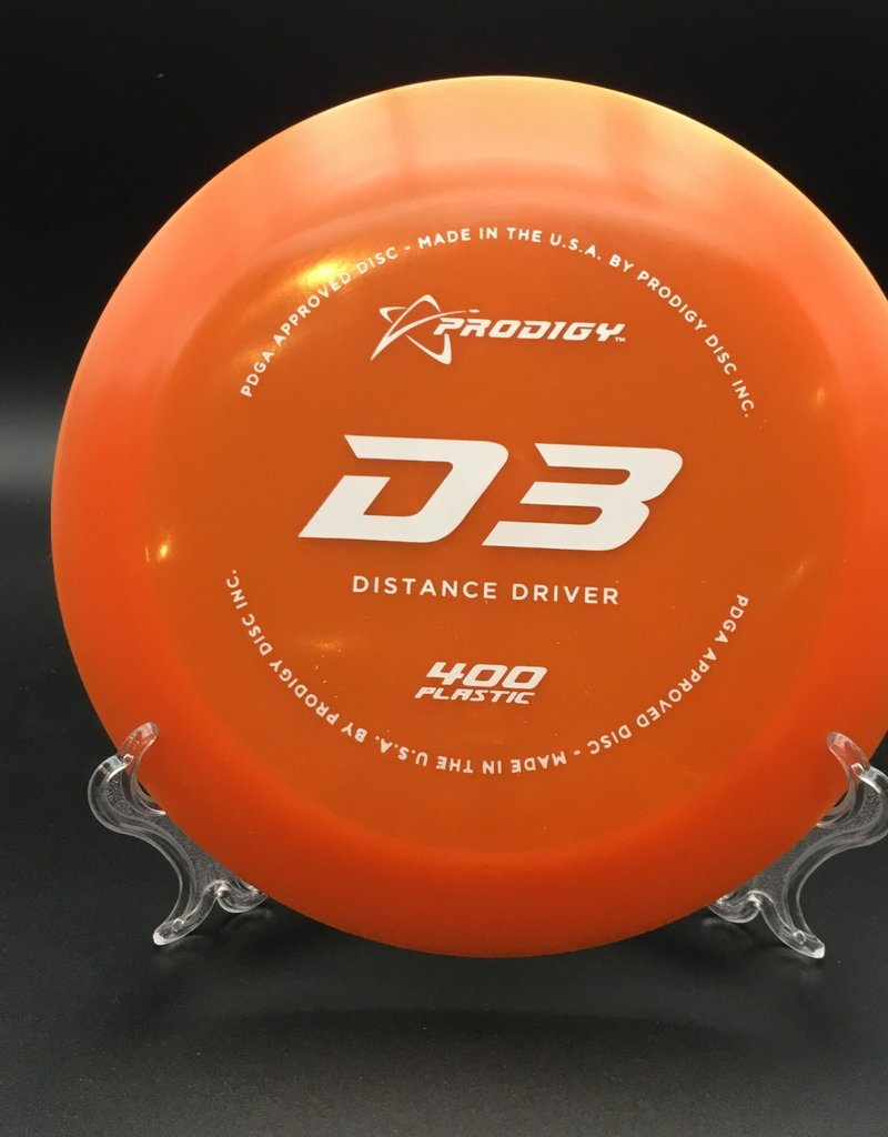 Prodigy Prodigy D3 400 plastic Orange 174g 12/6/-2/2