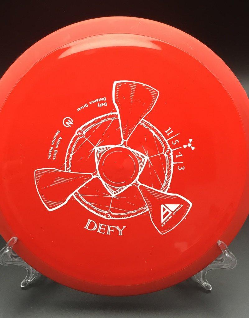 Axiom Axiom Defy Neutron Red 173g 11/5/-1/3