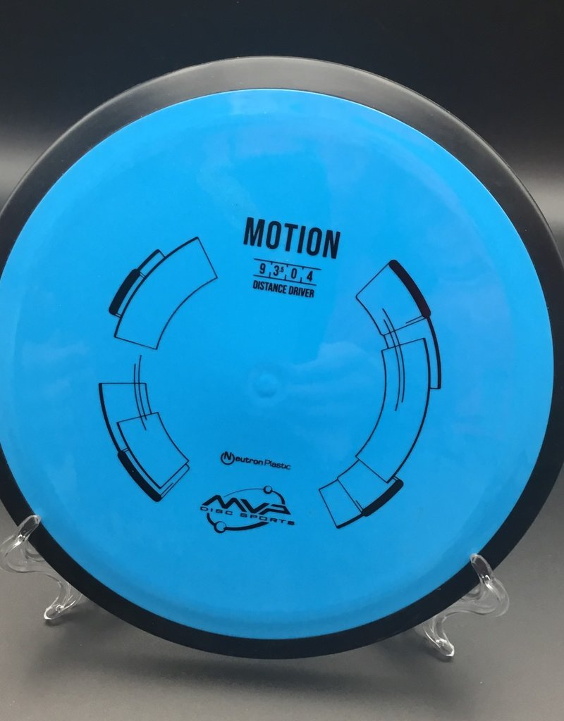 MVP Disc Sports MVP Motion Neutron Light Blue 161g 9/3.5/0/4