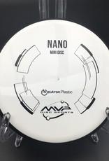 MVP Disc Sports MVP Nano Mini Neutron White