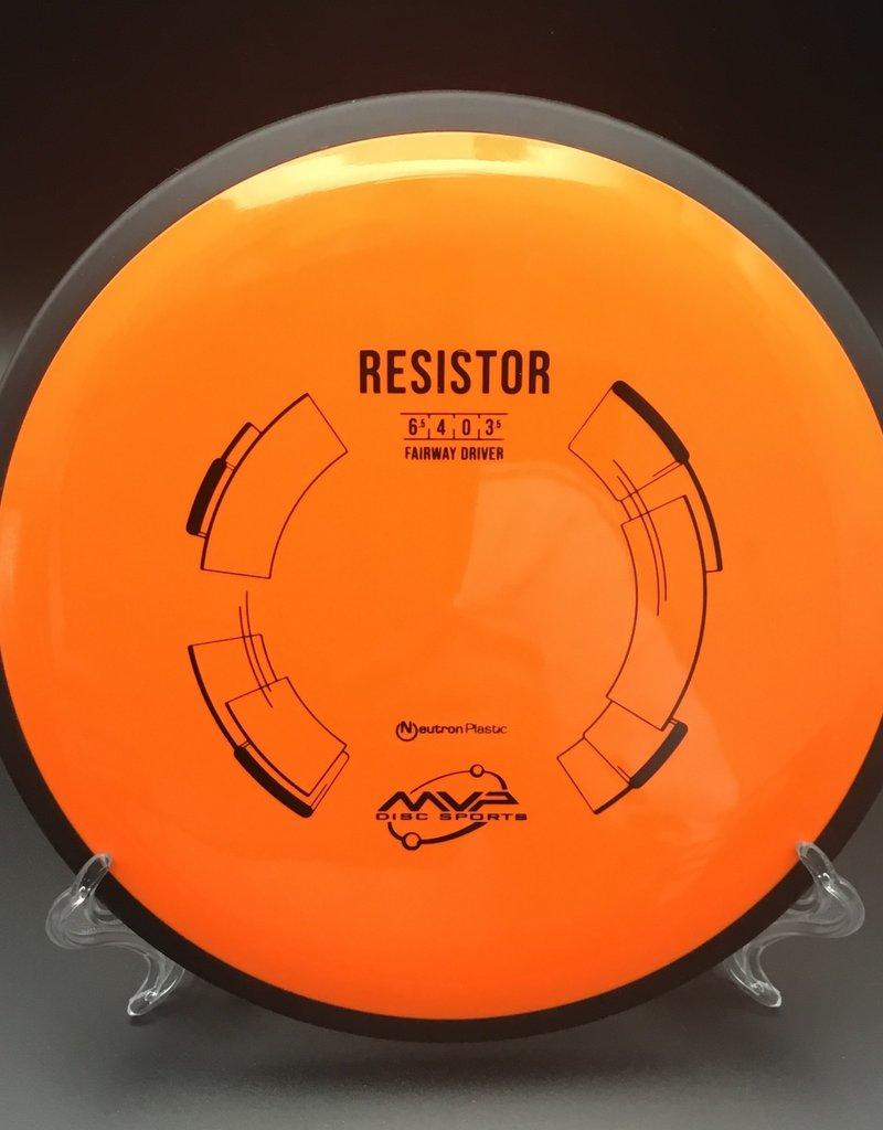 MVP Disc Sports MVP Resistor Neutron Orange 163g 6.5/4/0/3.5