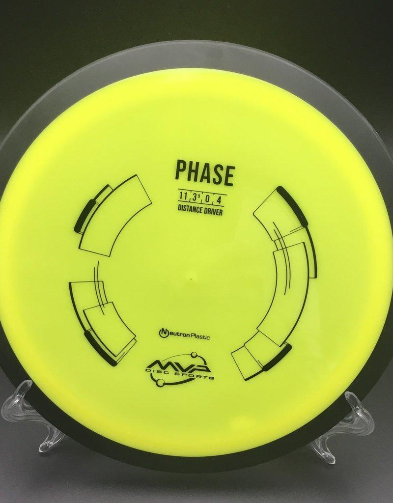 MVP Disc Sports MVP Phase Neutron Yellow 170g 11/3.5/0/4