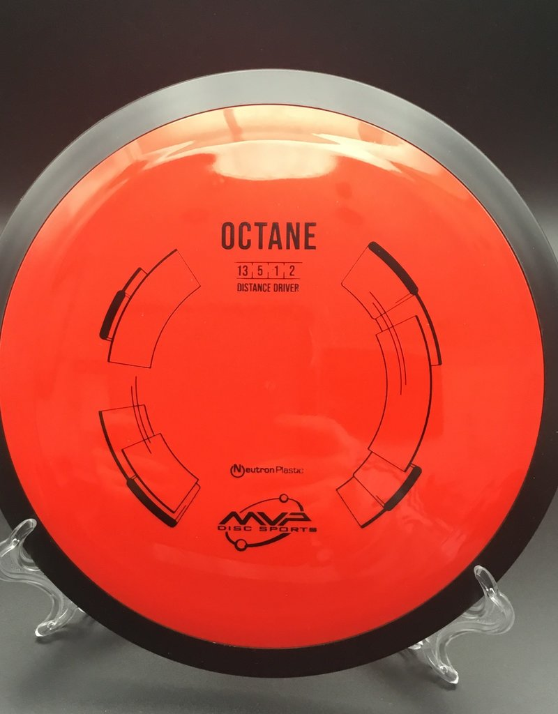 MVP Disc Sports MVP Octane Neutron Red 174g 13/4/-1/2