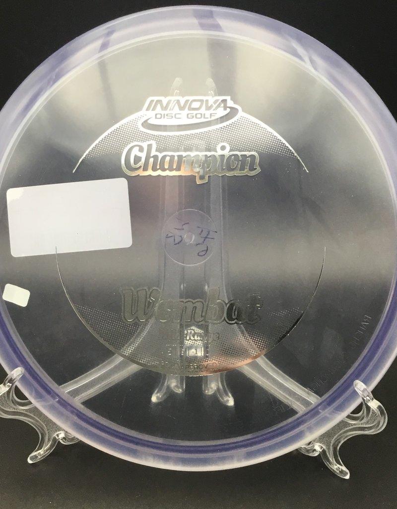 Innova Innova Wombat Champion Transparent Purple 176g 5/6/-1/0