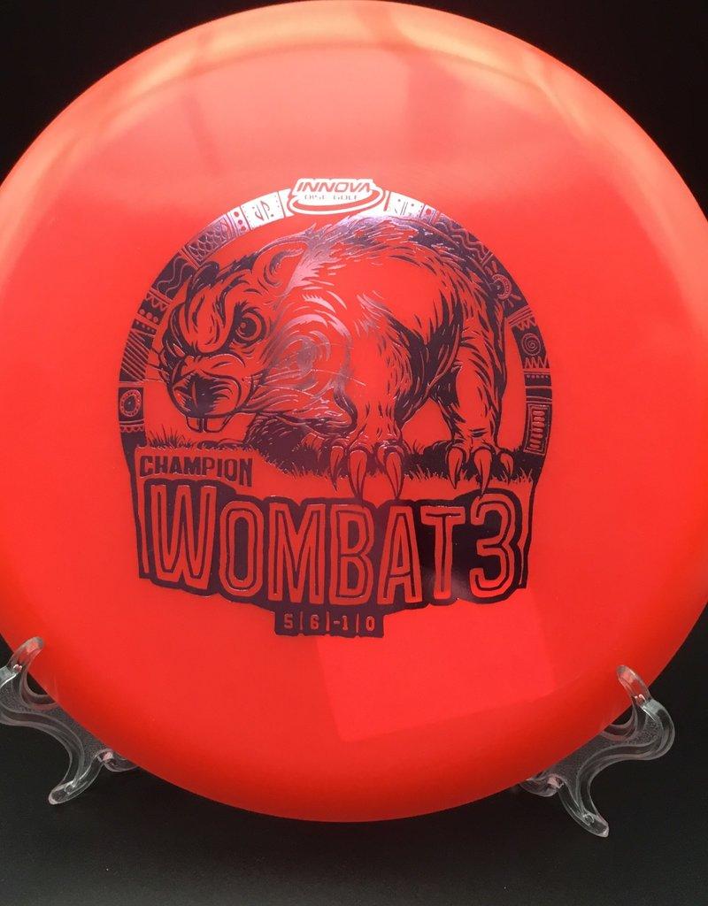 Innova Innova Wombat3 Champion Red 173g 5/6/-1/0