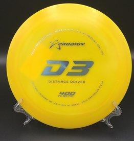 Prodigy Prodigy D3 400 plastic Yellow 174g 12/6/-2/2