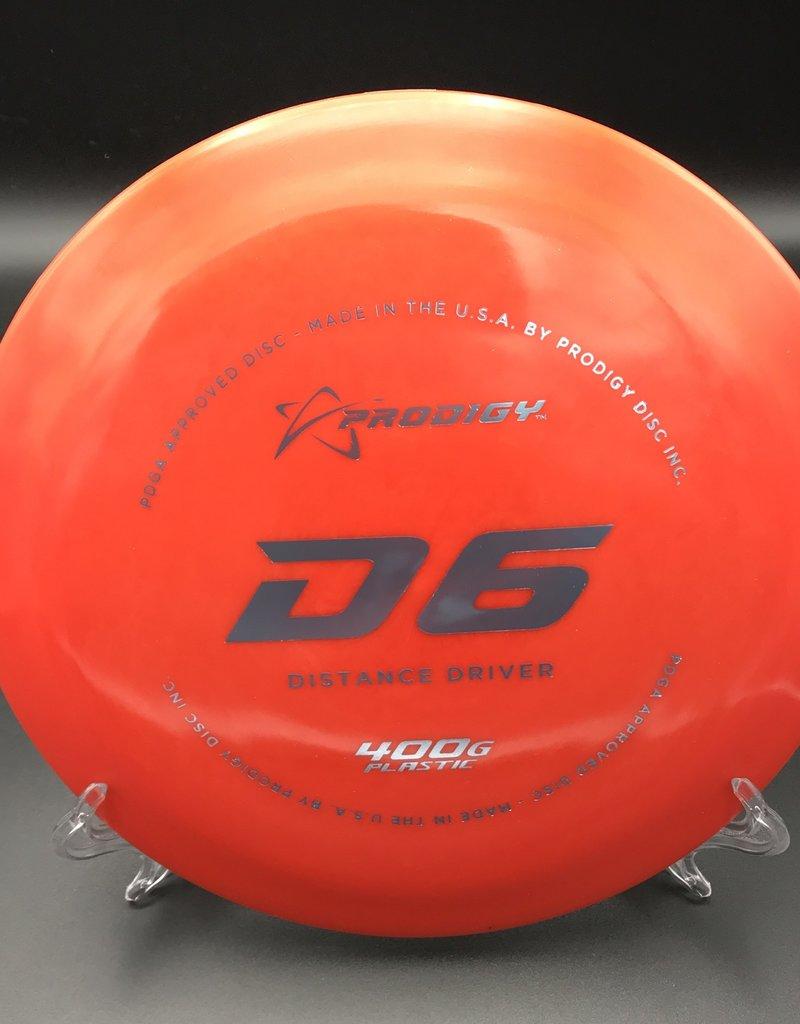 Prodigy Prodigy D6 400G Red 174g 12/6/-4/1