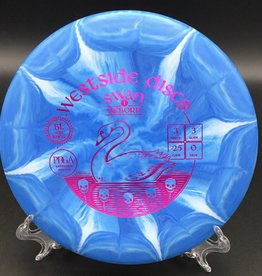 Westside Discs Westside Discs Swan 1 Reborn BT Soft Burst Blue 174g 3/3/-2.5/0