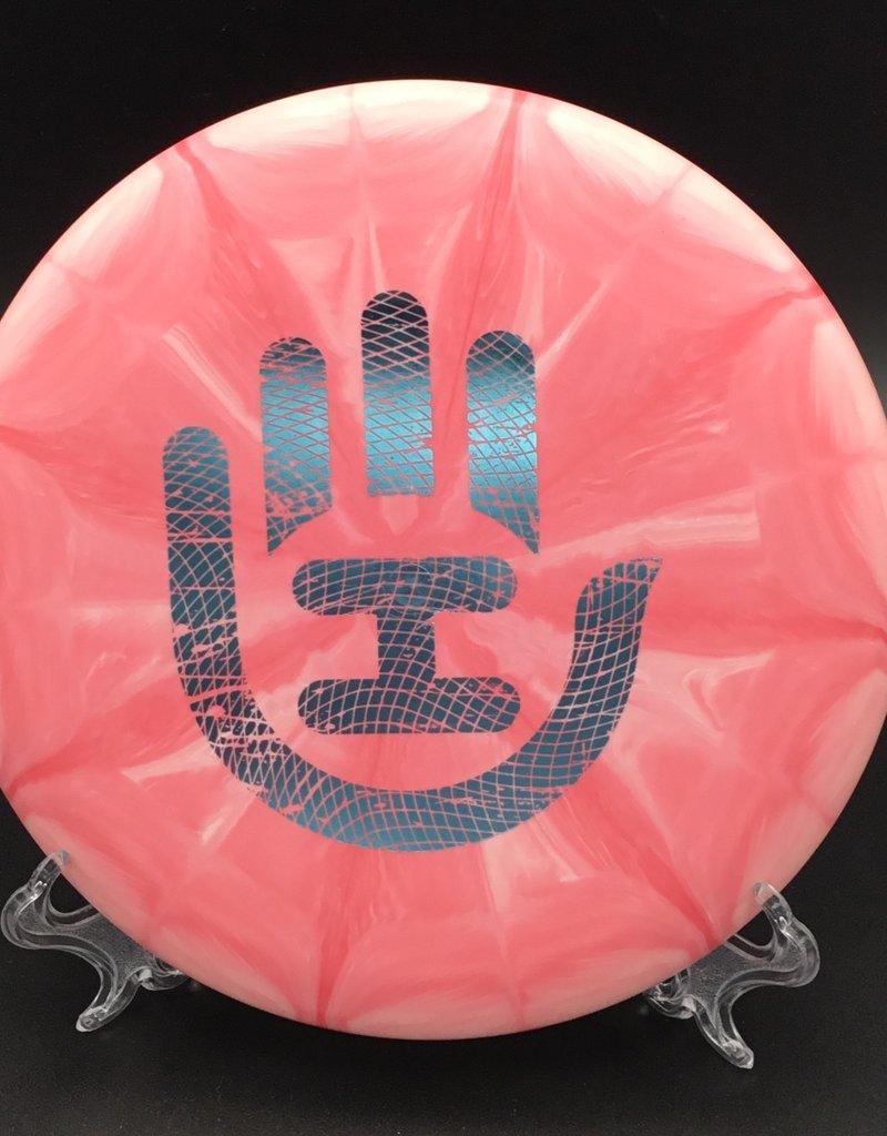 Dynamic Discs Dynamic Discs Deputy Classic Blend Big Handeye Stamp Burst Pink 176g 3/4/-1.5/0