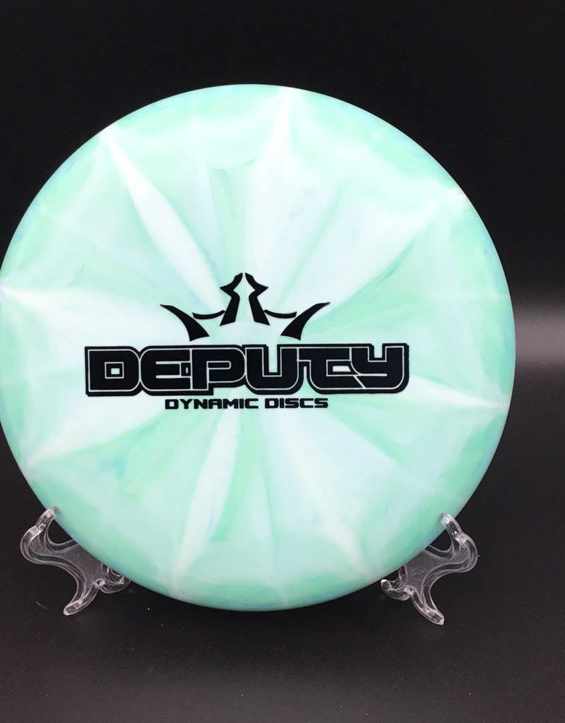 Dynamic Discs Dynamic Discs Deputy Prime Moonshine Burst Green 175g 3/4/-1.5/0