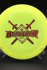 Dynamic Discs Dynamic Discs Defender Fuzion-X Yellow Limited Edition Stamp 168g 13/5/0/3