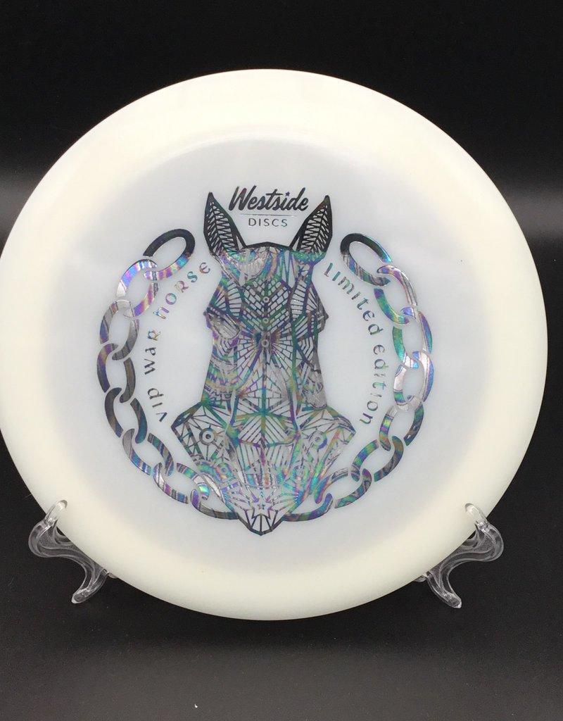 Westside Discs Westside Discs War Horse VIP White Geometric Stamp 173g 13/4/0/4