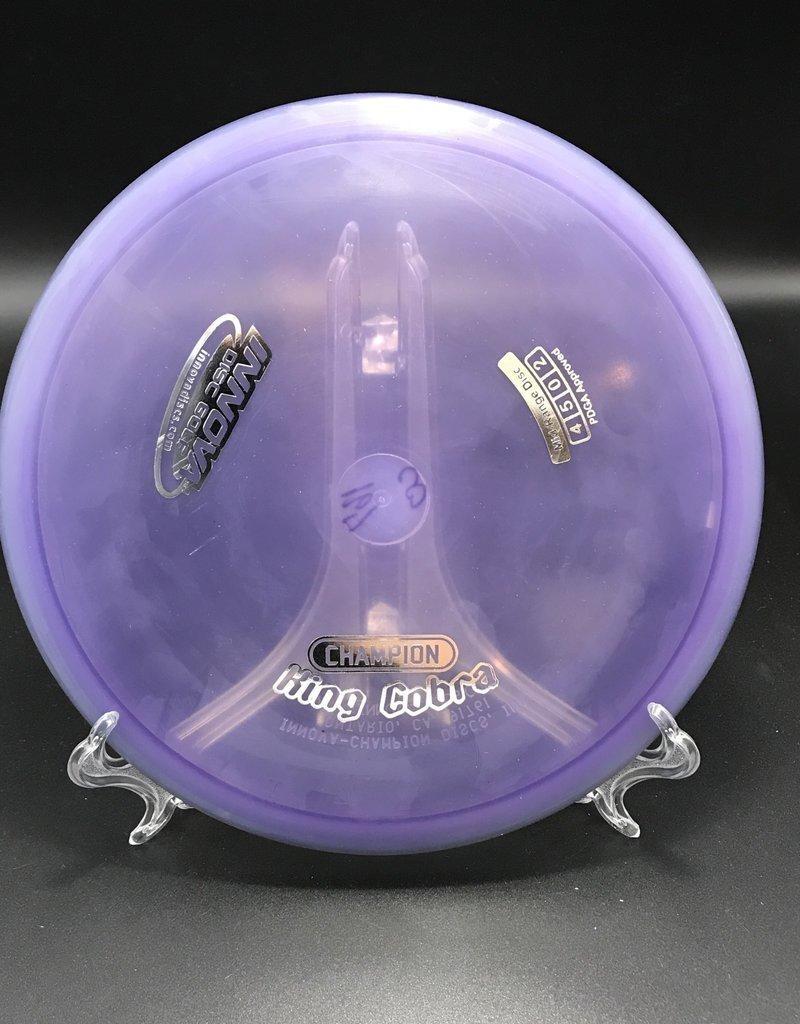 Innova Innova King Cobra Champion Transparent Purple 167g 4/5/0/2