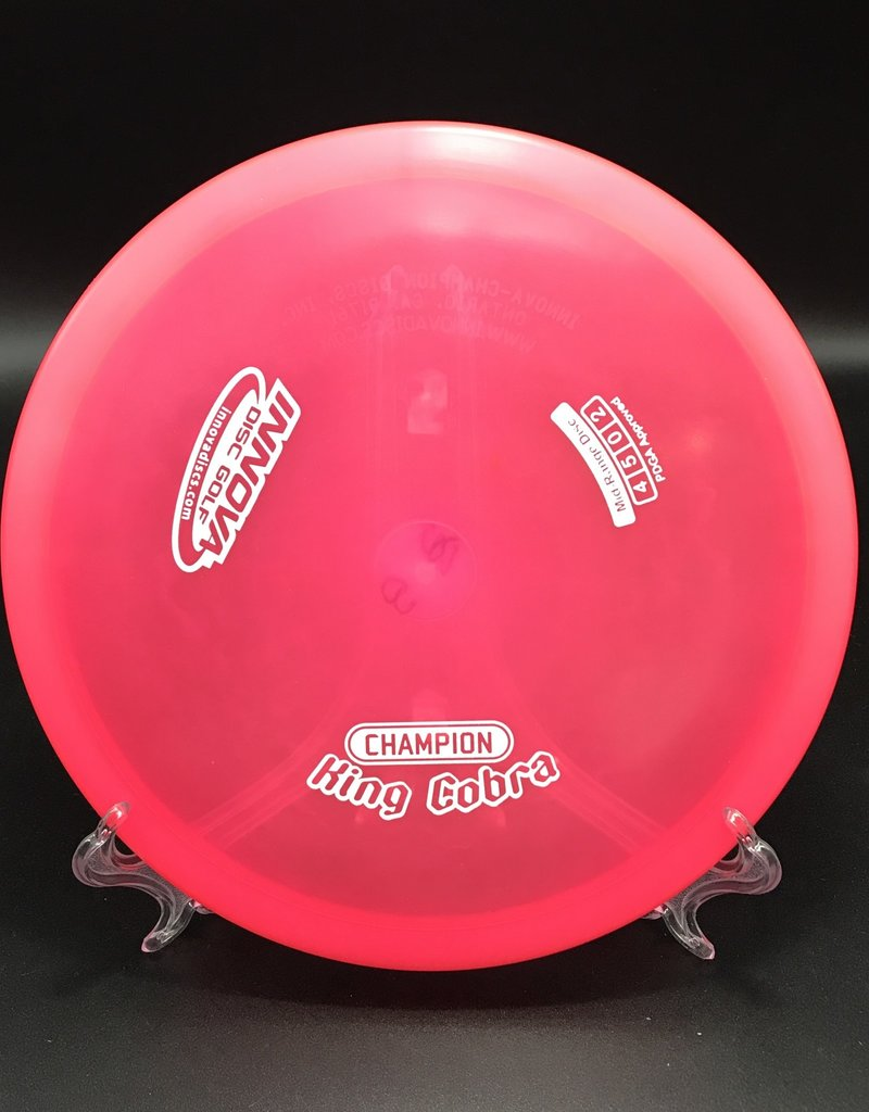 Innova Innova King Cobra Champion Transparent Pink 160g 4/5/0/2
