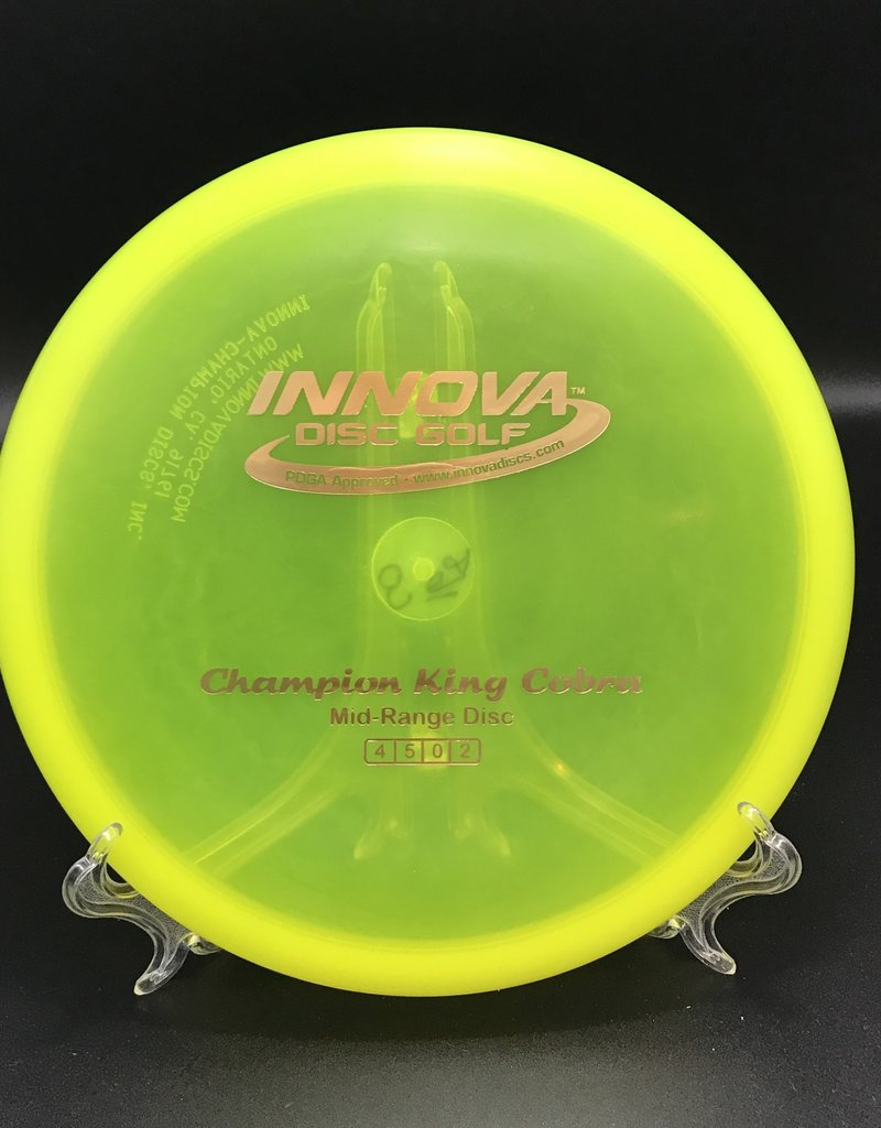 Innova Innova King Cobra Champion Transparent Yellow 168g 4/5/0/2