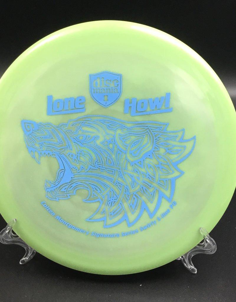 Discmania Discmania PD S-Line Swirl Lone Howl Colten Montgomery Signature Green 175g 10/4/0/3