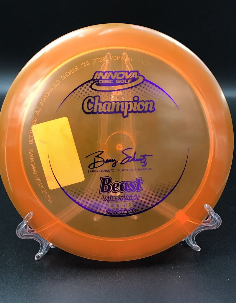 Innova Innova Beast Champion Orange Barry Schultz 175g 10/5/-2/2