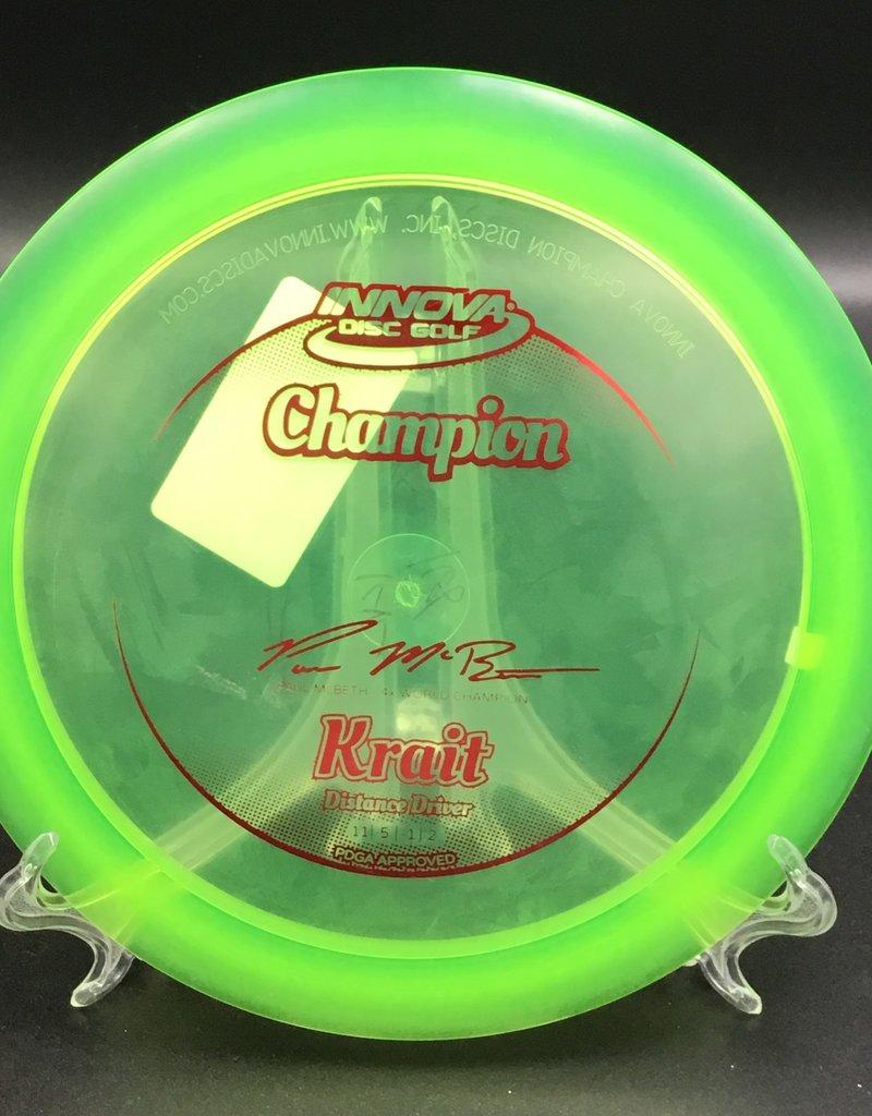 Innova Innova Krait Champion Green 168g 11/5/-1/2
