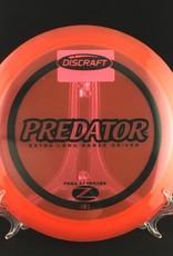 Discraft Predator Z Red 172g 9/4/0/4