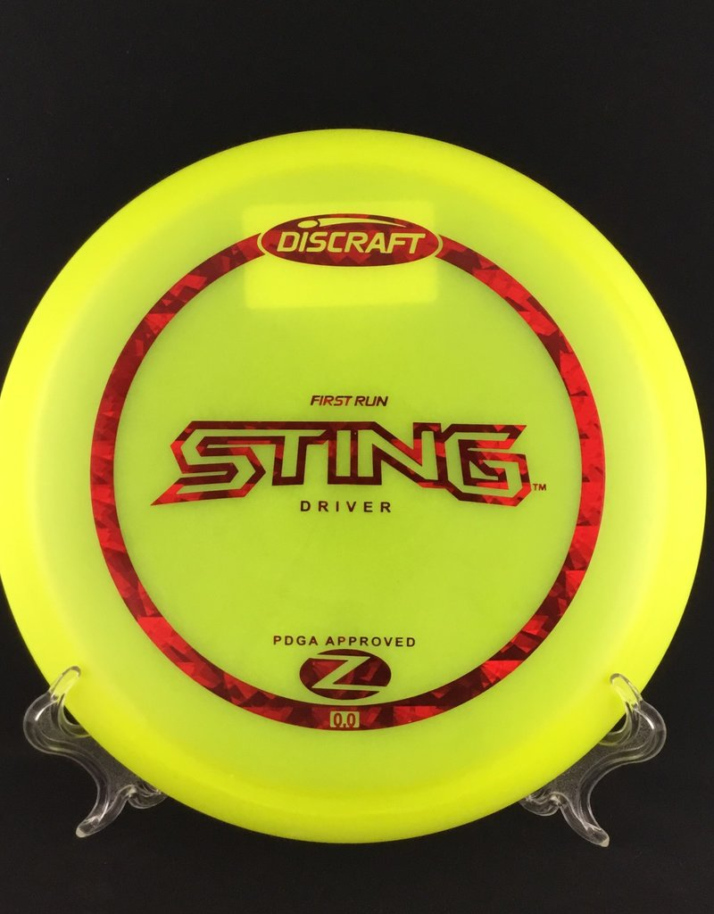 Discraft Sting Z Yellow 176g 7/5/-2/1