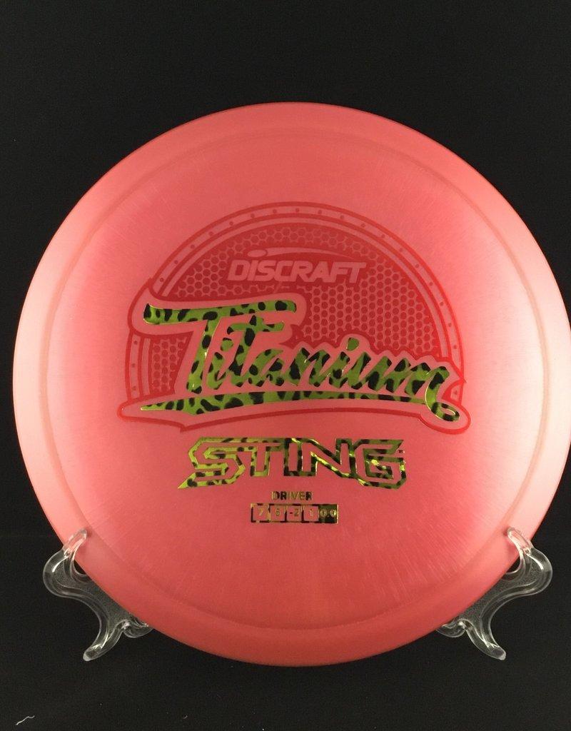 Discraft Sting Titanium Pink 172g 7/5/-2/1