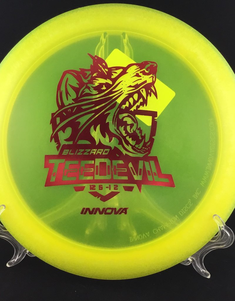 Innova Innova TeeDevil Blizzard Yellow 157g 12/5/-1/2