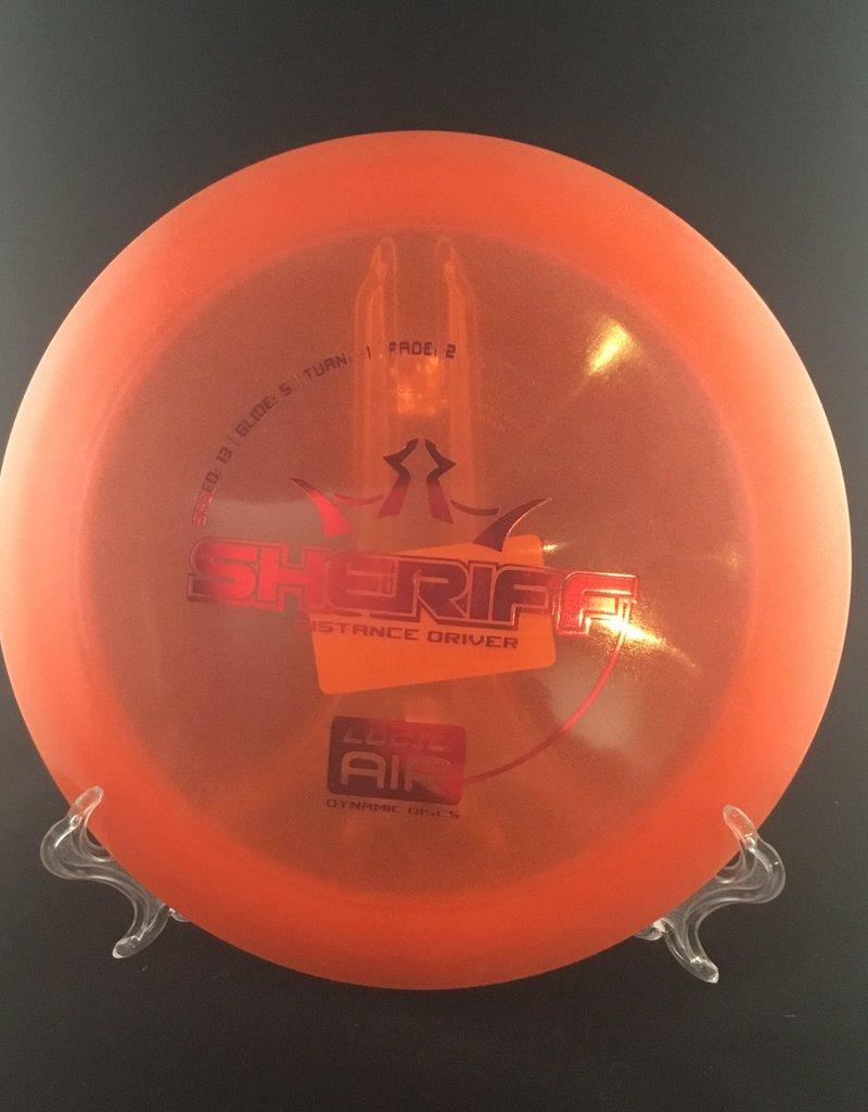 Dynamic Discs Dynamic Sheriff Lucid Air Orange 159g 13/5/-1/2