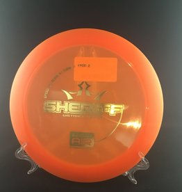 Dynamic Discs Dynamic Sheriff Lucid Air Orange 161g 13/5/-1/2