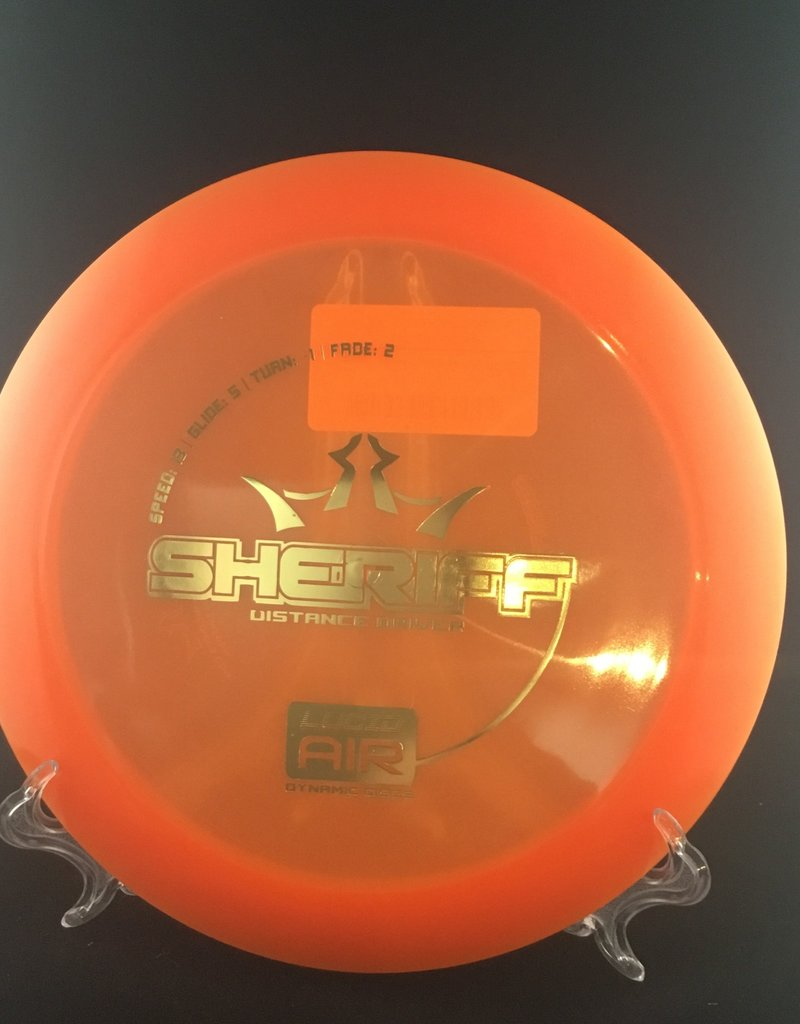 Dynamic Discs Dynamic Sheriff Lucid Air Orange 161g 13/5/-1/2