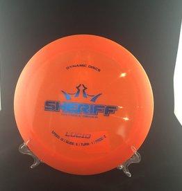 Dynamic Discs Dynamic Sheriff Lucid Orange 174g 13/5/-1/2