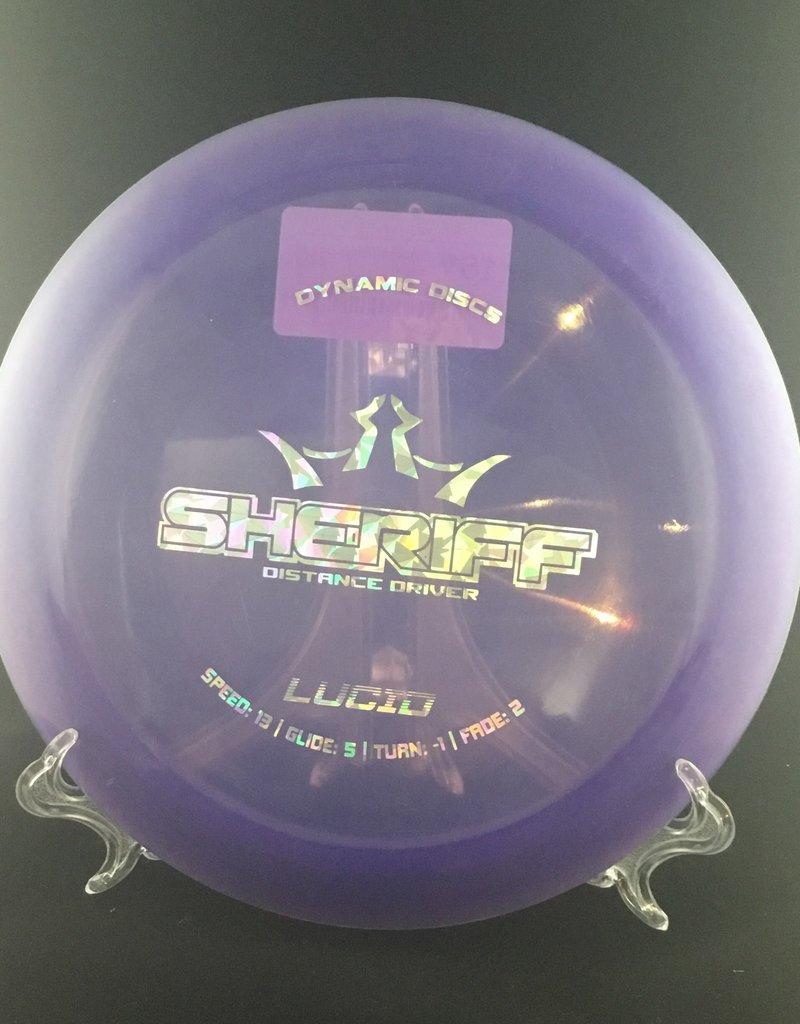 Dynamic Discs Dynamic Sheriff Lucid Purple 174g 13/5/-1/2