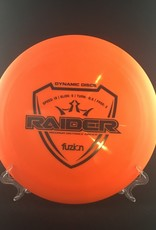 Dynamic Discs Dynamic Raider Fuzion Orange 176g 13/5/-0.5/3