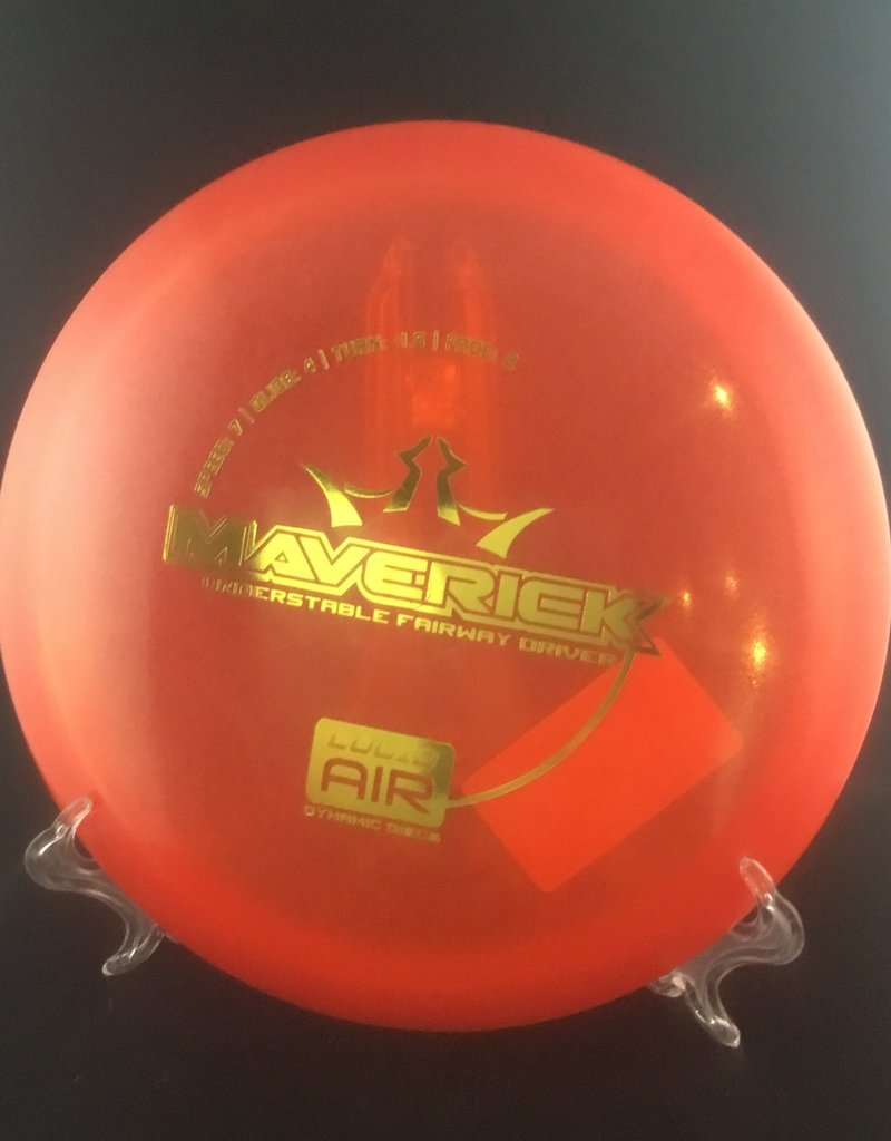 Dynamic Discs Dynamic Maverick Lucid Air Red 164g 7/4/-1.5/2