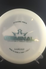 Dynamic Discs Dynamic Criminal Lucid White 171g 10/3/1/4