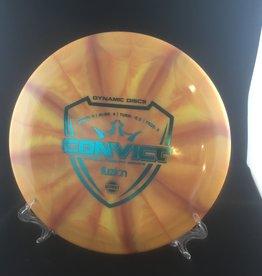Dynamic Discs Dynamic Convict Fuzion Burst Orange 170g 9/4/-0.5/3