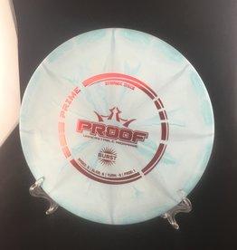 Dynamic Discs Dynamic Proof Prime Burst Blue 157g 5/6/-3/1
