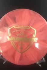 Dynamic Discs Dynamic Warrant fuzion Burst Red 178g 5/5/-2/0